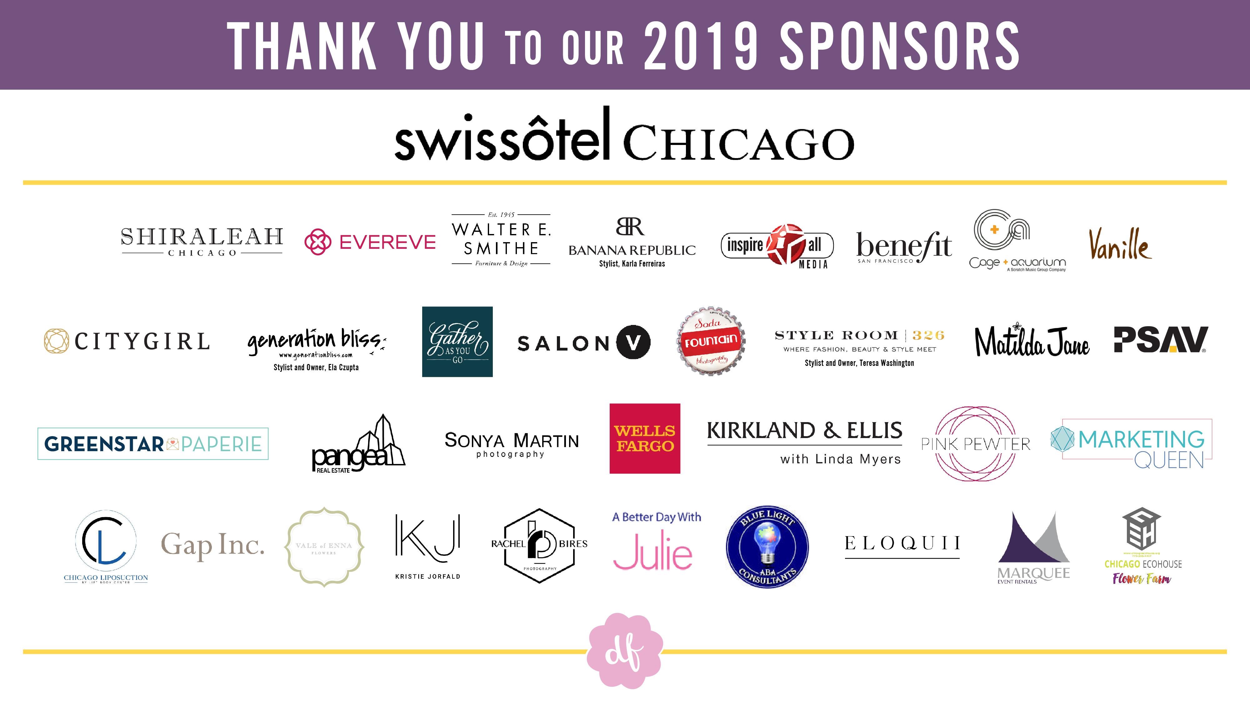 2019 Luncheon Sponsors