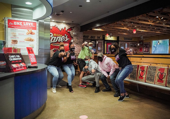 Mother's Day Event with Raising Canes on April 30th 2021 in Houston
