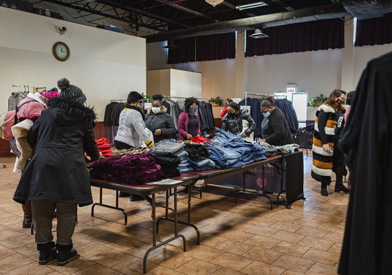 2021 Random Acts of Kindness Event with Chicago Housing Authority